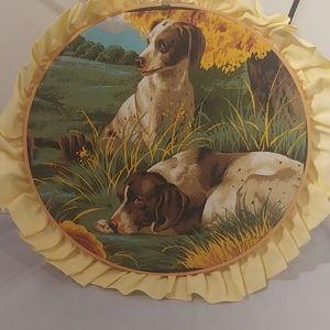 """12"""" hoop art"""